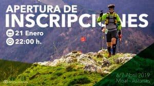 Apertura Inscripciones Puerta de Muniellos 2019 Moal
