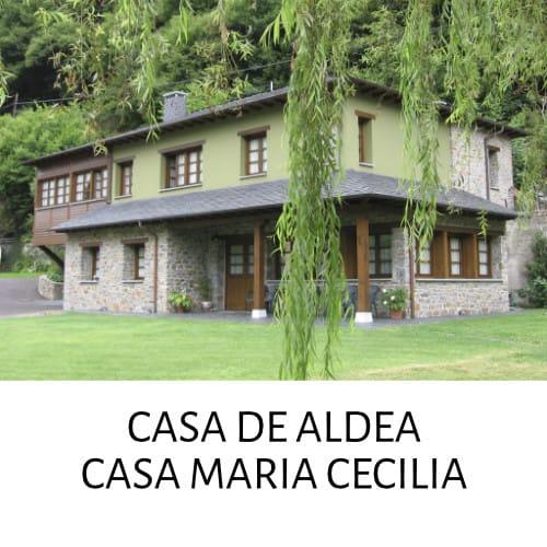 CASA DE ALDEA CASA MARIA CECILIA