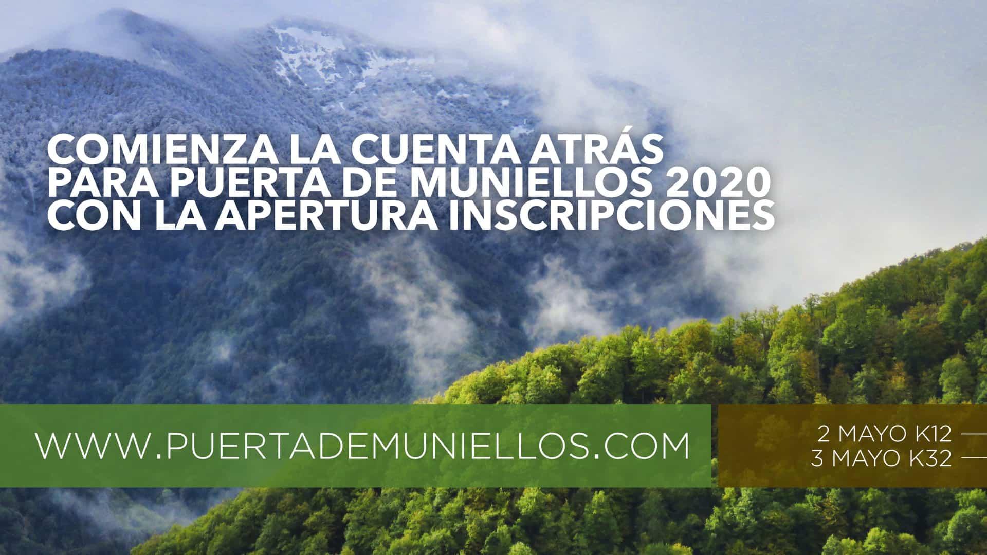 Inscripciones Puerta de Muniellos 2020