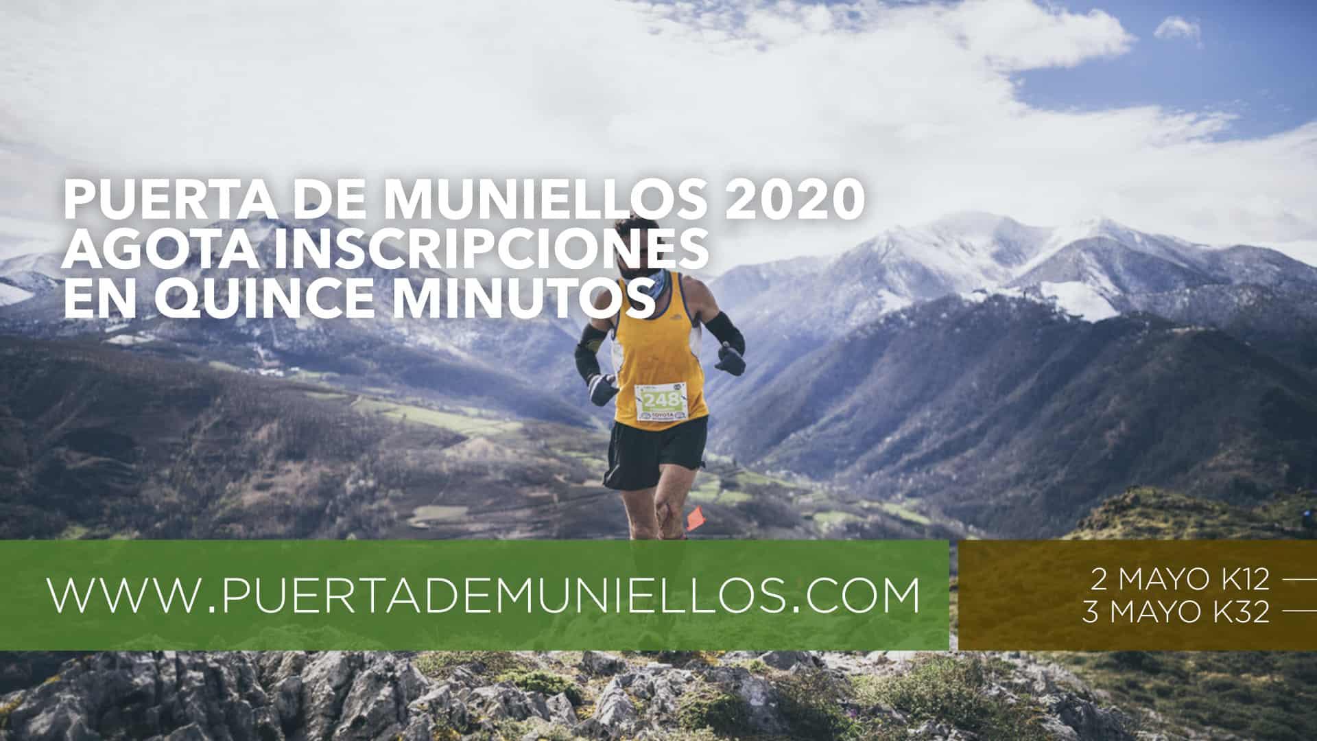 Puerta de Muniellos 2020 Inscripciones Agotadas